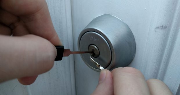 picking lock